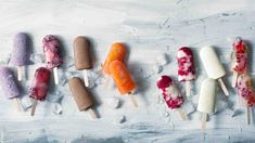 Nápadů na domácí nanuky není nikdy dost! Přinášíme rovnou 7 receptů, které vás budou bavit. Rolling Pin, Granola, Nutella, Carrots, Vegetables, Food, Essen, Carrot, Vegetable Recipes