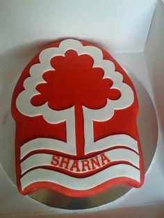 Notts forest cake