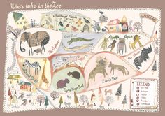 Who's Who in the Zoo on Behance