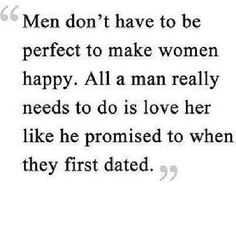 Men Don't Have To Be Perfect - Sassified