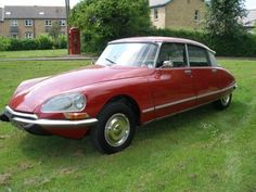The Citroen DS23 was a thing of such beauty.