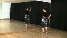 Técnica de baile flamenco: nivel básico: Marcaje con vueltas y brazos