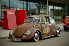 """VW Beetle """"BROWN SUGAR"""""""