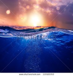 Water Sunset View Wall Mural wall murals and Water Sunset View Wall Mural removable wall decals are easy to install. Buy self-adhesive Water Sunset View Wall Mural wallpaper by Limitless Walls. Sea Photography, Photography Backdrops, Ocean Room, Underwater Photos, Sunset Sky, Nature Images, Wall Murals, Wall Art, Photo Studio
