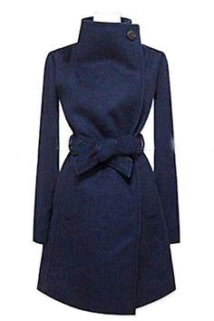 Navy Blue Dressy Jacket