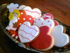 Galletas decoradas para San Valentín / St. Valentine's cookies