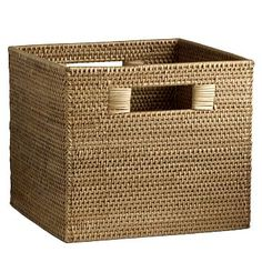 Modern Weave Storage Bin #westelm