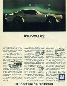 chromjuwelen: 1971 Pontiac Firebird Trans Am by coconv on Flickr.1971 Pontiac Firebird Trans Am