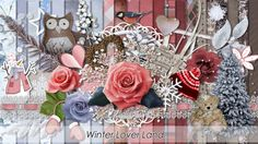 Winter Lover Land a ScrapBird Collab. Available at Scrapbird.