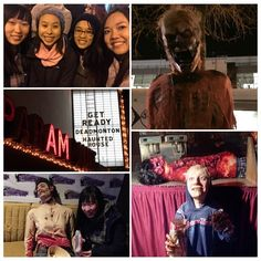 #Deadmonton #hauntedhouse at the old #paramounttheater in #yeg. 3 hrs and $20 later we screamed our heads off. Well done #Edmonton! Not sure if I will wait that long again though.. #funthingstodo #halloween by stellakaytam