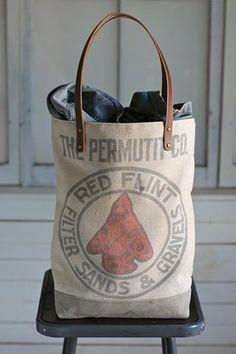 1950's era Canvas Tote Bag