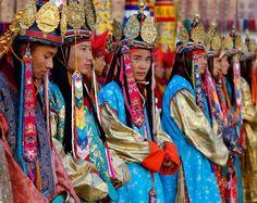 Monks in Bhutan. High on my list of travel destinations.Coming soon Bhutan!
