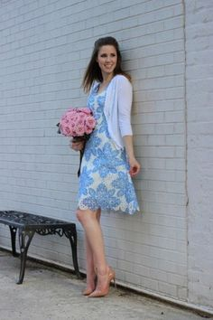 Starflower Scalloped Dress by Eva Franco #anthrofave #anthropologie