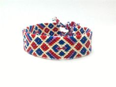"friendship bracelet ""diamond meets Harlequin"" by Kreativprodukte"