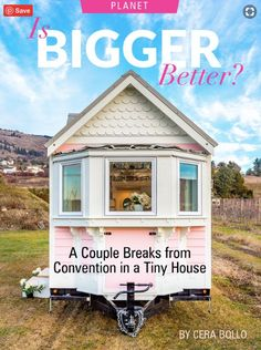 Breaking from the rat race of a materialistic society, one couple explores doing life differently in the tiny house they built (and now build for others). Teach Dance, Tiny House Company, Big Closets, Building A Tiny House, Cozy Nook, Passion Project, Creating A Business, Large Homes, Big Houses