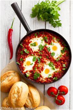 Maistuis varmaan sullekin!: Shakshuka Ethnic Recipes, Food, Essen, Meals, Yemek, Eten