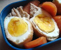 """How to make the eggs cooked in fried tofu skins (aka """"eggs in treasure bags"""". TIP: Make these with the type of inarizushi fried tofu skins packed in vacuum bags, which are better quality than the ones that come in cans. Or cook the fried tofu skins yourself (instructions for both methods included)."""