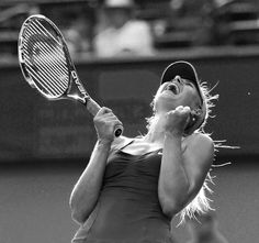 Maria Sharapova. (Nike Tennis on Facebook)