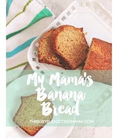 My mamas banana bread recipe! Baked since I was a child.. nothing better!