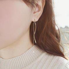 Drop Bead Earrings  from #YesStyle <3 soo n soo YesStyle.com