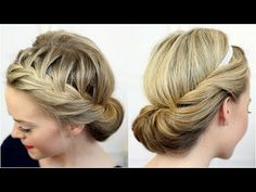 Tuck and Cover French Braid Video Tutorial (hair band styles headband tutorial) Holiday Hairstyles, Trending Hairstyles, Summer Hairstyles, School Hairstyles, French Braid Hairstyles, Headband Hairstyles, Braided Hairstyles, Updo Hairstyle, Braided Updo
