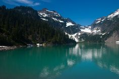 Blanca Lake, Central Cascades, Stevens Pass, West, Mt. Baker Snoqualmie National Forest, Washington. Headed here this Saturday.