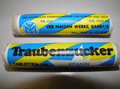 Traubenzucker aus der DDR