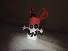 Picture of Ghost pen holder.