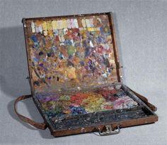 Pierre Bonnard's paint pallette