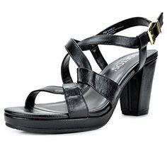 28c0a411c662 Sandals TOETOS DIANE-01 New Women s Cross Strap Open Toes Mid Chunky...  Dress SandalsChunky HeelsOpen ToePlatformThick HeelsWedge
