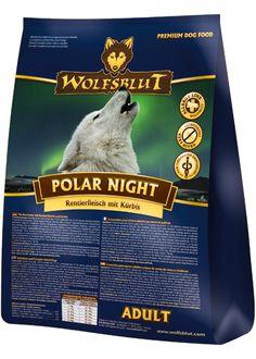 Getreidefreies Hundefutter: Wolfablut Polar Night schmeckt besonderes fein und leicht süßlich. Eure Hunde werden es lieben! #wolfsblut #healthfood24