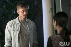 """Hart of Dixie -- """"Kablang"""" -- Image Number: HA401b_0055b.jpg -- Pictured (L-R): Wilson Bethel as Wade and Rachel Bilson as Dr. Zoe Hart (back to camera) -- Photo: Patrick Wymore/The CW -- © 2014 The CW Network, LLC. All rights reserved.pn"""