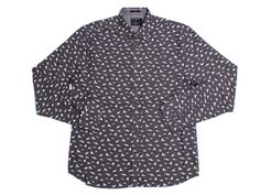 Micro Sharks LS Button Up