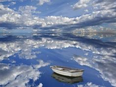 boating over the sky