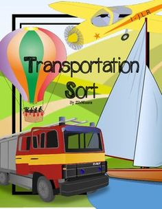 Have fun learning about transportation with your students with this transportation sort set. Included in this resource are:     1. A Sort Header    2. 32 Picture Sort Cards    3. A Transportation Desk Card    4. 3 One-page headers    5. 24 Word Wall Picture cards (clipart)    6. 32 Word Wall Picture Cards (photos)If you liked this product, you might also enjoy these products: My FamilyCommunity WorkersFoods SortAlphabet Font Match UpClassroom Directions Picture Cards for Young Learners and…