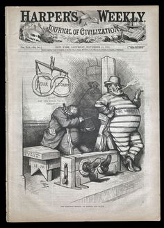 "Nice summarizing article about Thomas Nast's cartoons and how they served as a political weapon against one of Tammany Hall's most notorious and corrupt New York City officials, William ""Boss"" Tweed. A couple of Nast's lesser known cartoons are included on this webpage."