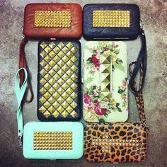 @wetseal | Meet the studliest wallets around. We think they are oh-so-cute! #studs #wallets #phonecase