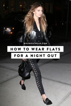 How to actually get away with wearing flats for a night out