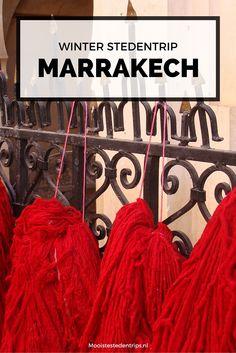 Op zoek naar een perfecte stedentrip in de winter? Lekker van het zonnetje genieten en er even helemaal tussenuit? Ga naar Marrakech! Bekijk alle tips voor een winterse stedentrip Marrakech   Mooistestedentrips.nl