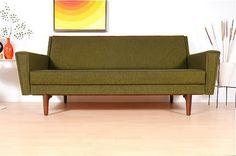 Amazing Vintage Danish Modern Sleeper Sofa
