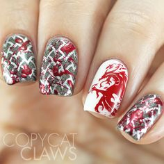 The Digit-al Dozen does Fandom: Day 3 Mass Effect (and Dragon Age) Nail Art