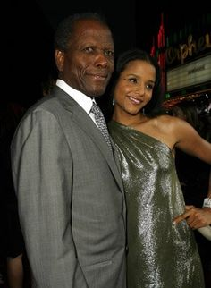 Pictures & Photos of Sidney Poitier - IMDb  & daughter