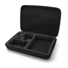 FUNDA TRANSPORTE XL PARA UNOTEC XTR. Funda de transporte XL especialmente diseñada para cámaras deportivas, Unotec XTR y GoPro. Lleva siempre contigo tu cámara deportiva de forma segura y eficaz. Te permitirá transportar de forma segura y ordenada tu cámara deportiva con tus principales accesorios. Protegerás con la mayor comodidad tu cámara contra golpes, polvo y humedad. Registrate gratis,nºinvitación 225 / todastuscompras.com