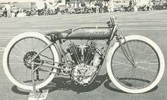 1916 Indian 1000cc 8-valve board track racer