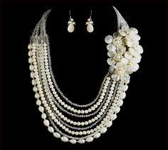 Simple Pearl Wedding Jewelry Ideas