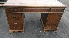 Old Desk Makeover
