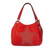 Aimee Kestenberg Leather Janelle Star Shoulder Bag