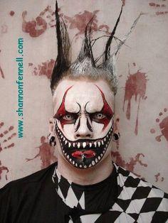 evil jester makeup evil jester makeup Source by Jester Makeup, Scary Clown Makeup, Creepy Halloween Makeup, Amazing Halloween Makeup, Halloween Make Up, Evil Makeup, Halloween Circus, Halloween Photos, Vintage Halloween