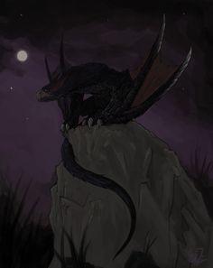 Rathalos/Rioreusu - Monster Hunter Fanart