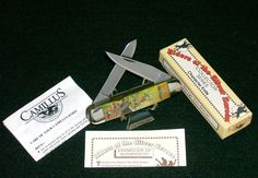 """Camillus Roy Rogers Knife Set """"Remington Pattern 5787"""" W/Packaging,Papers Rare @ ditwtexas.webstoreplace.com"""